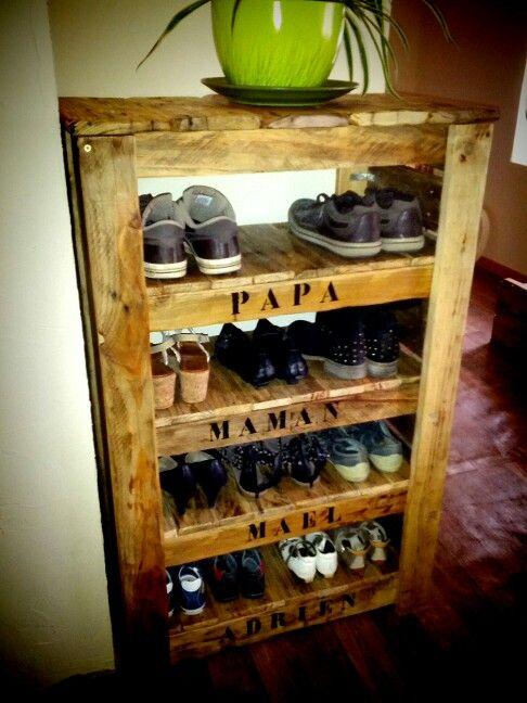 Comment Faire Un Meuble A Chaussure En Palette Gamboahinestrosa