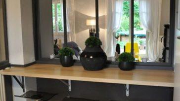 Verrière Cuisine Une Verrière Miroir Avec Ikea Decoro