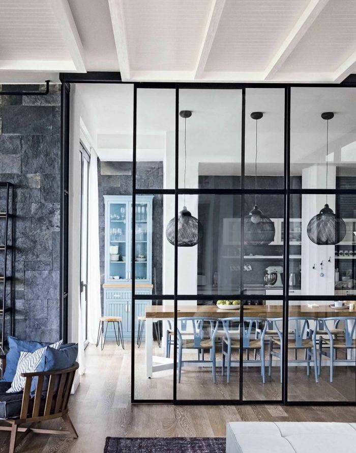 Verrière Cuisine : ▷ 1001 + idées pour la cuisine ouverte avec ...
