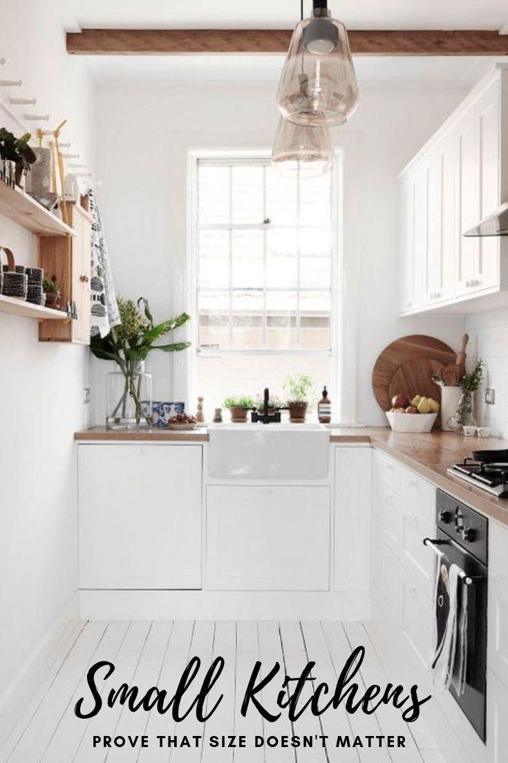 DIY Meubles : 10 petites cuisines qui prouvent que la taille ne ...
