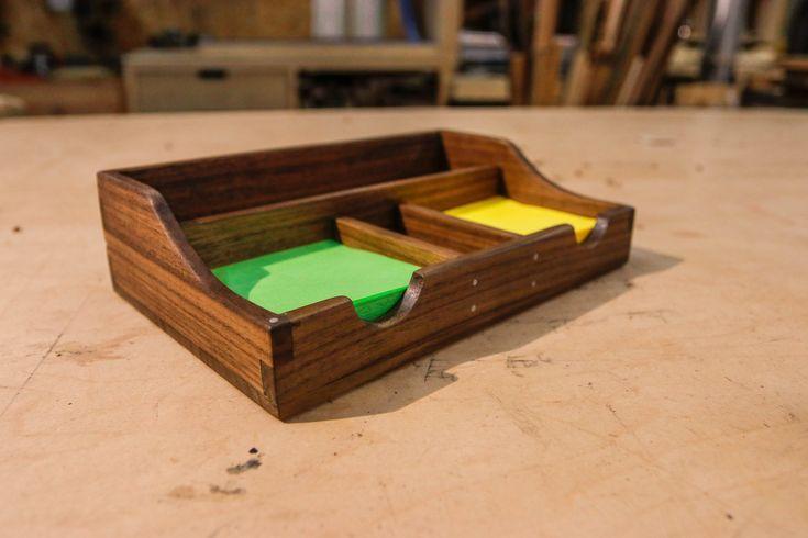 Diy meubles and relooking : organiseur de bureau en bois de