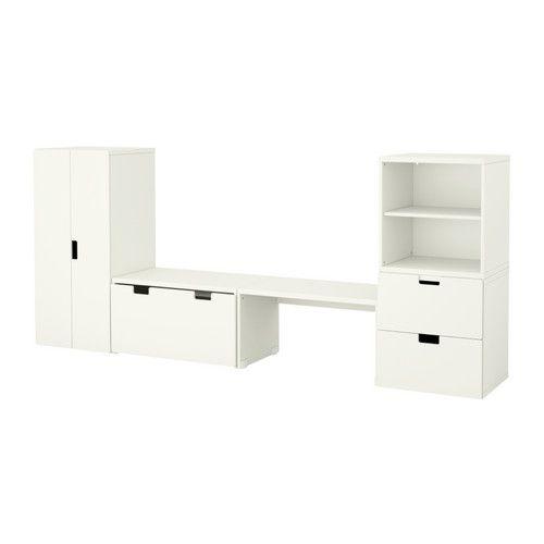 Idées Décoration Cuisine Ikea Stuva Banc Avec Rangement Blanc