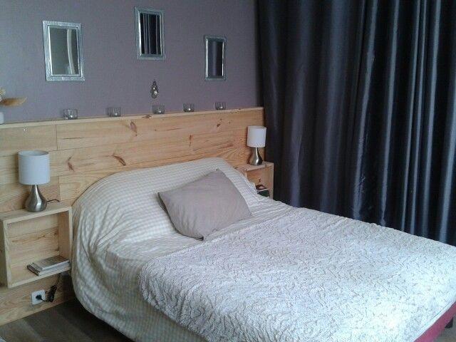 Lits en palette : Tete de lit fait maison - Decoro 360 - Votre Communauté d'inspiration Déco N°1