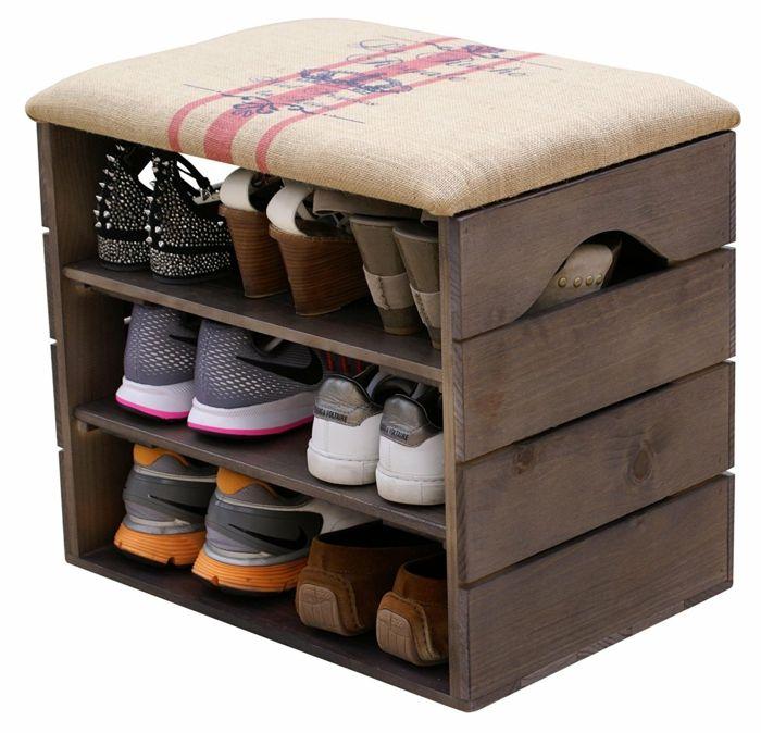 meuble chaussure palette meuble chaussures am nager bien l 39 entr e et ranger les chaussures. Black Bedroom Furniture Sets. Home Design Ideas