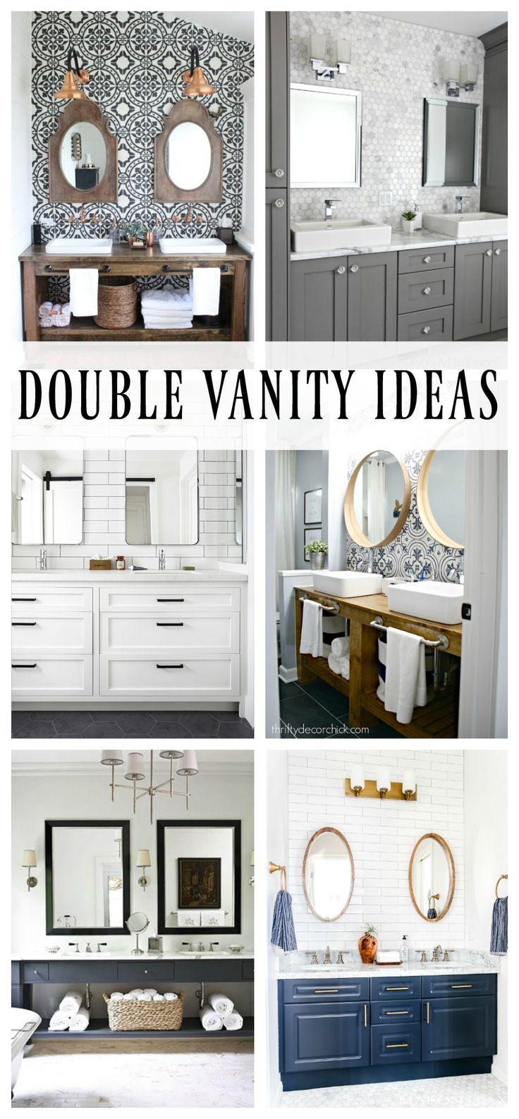 Diy Meubles And Relooking Double Vanity Ideas Pour Votre