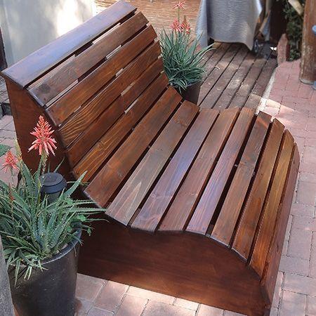 DIY Meubles : banc de jardin moderne en plein air ou siège d ...