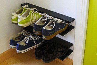 Meuble Chaussure Palette Rangement Chaussures à Fabriquer