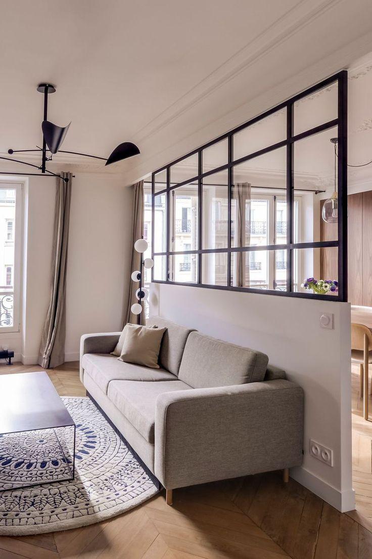 Verrière Cuisine : Appartement Paris 6e : 80 m2 masculins ...