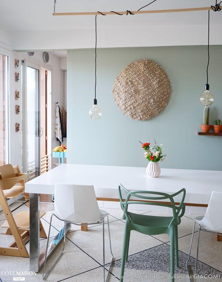 Verri re cuisine ma nouvelle salle manger en vert de gris juliana de giacomi c t - Ma salle a manger ...