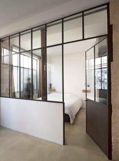 Verrière Cuisine : La chambre est séparée par une verrière ...