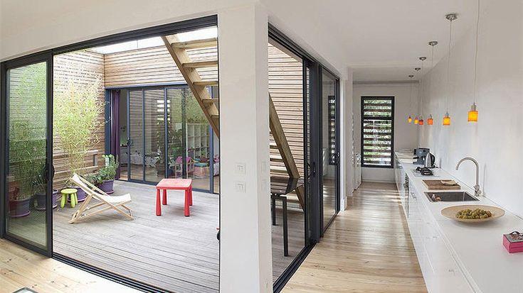 Verrière Cuisine : Une maison de rêve en bois ouverte sur l ...