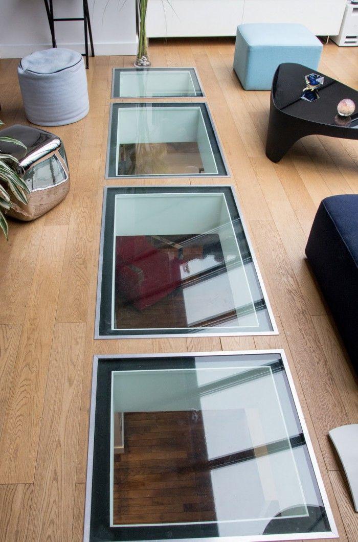 verri re cuisine verri re de toit et puits de lumi re. Black Bedroom Furniture Sets. Home Design Ideas
