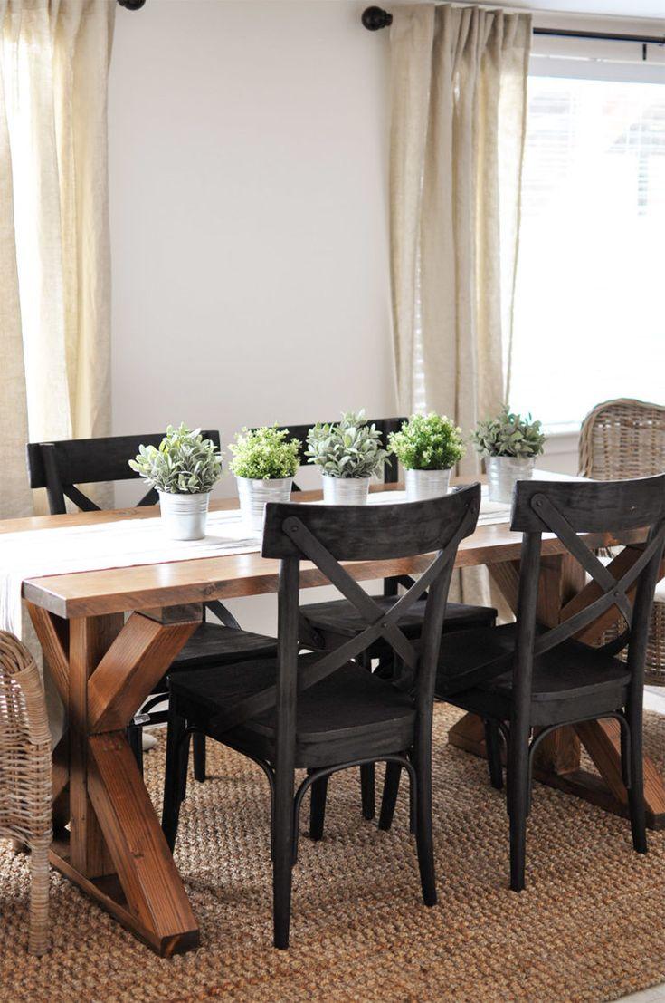 DIY Meubles : 20 Tables De Salle à Manger Rustiques