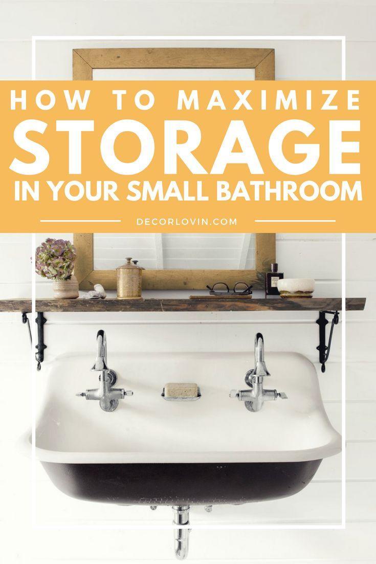 diy meubles 10 id es de rangement pour la salle de bain. Black Bedroom Furniture Sets. Home Design Ideas