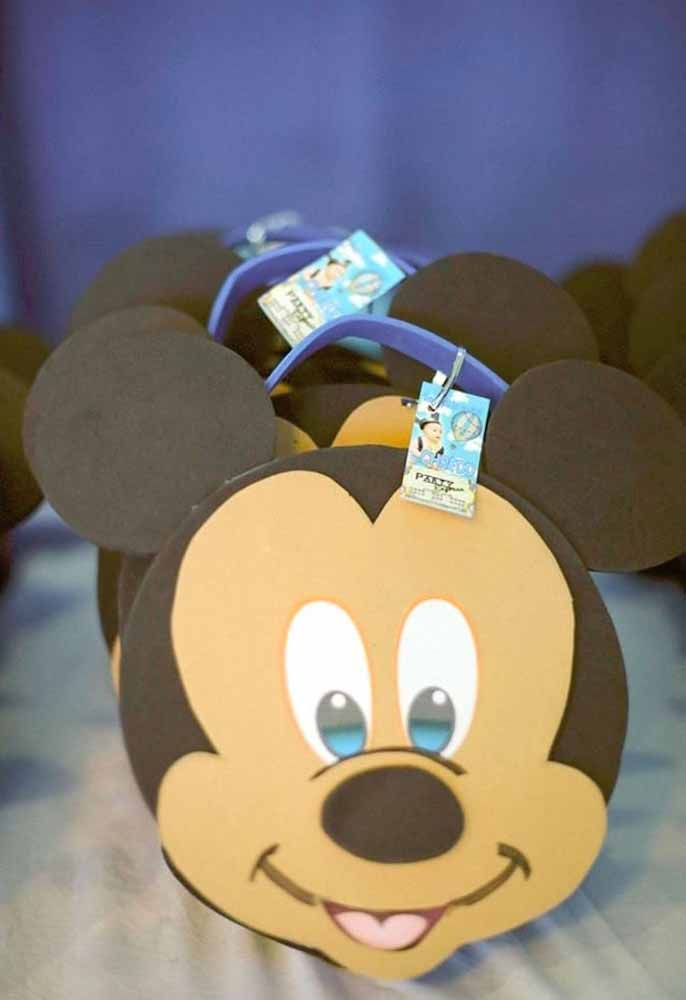 Mickey Mouse Face Favors