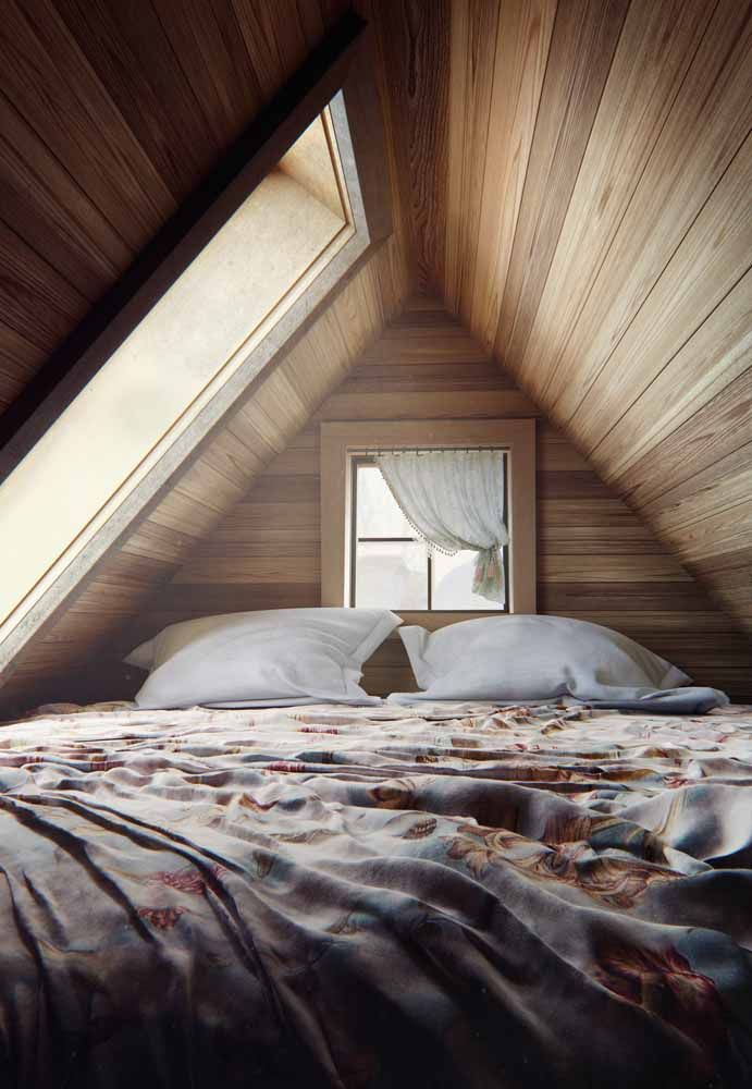 Light, wood and a soft, warm bed