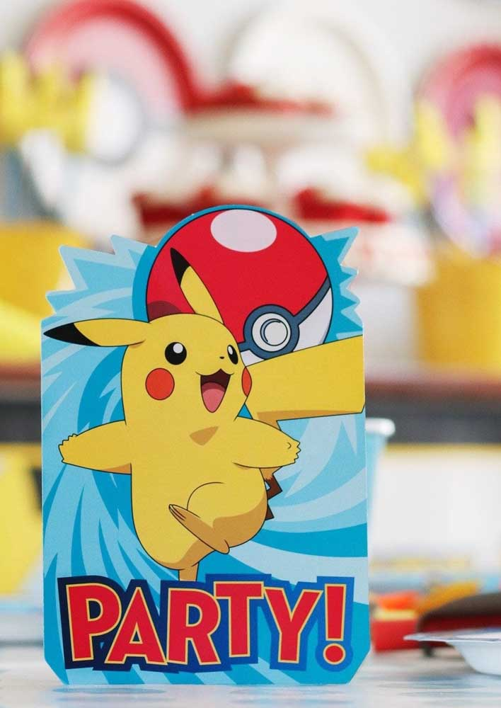 How about betting on custom packaging for the pokemon party?