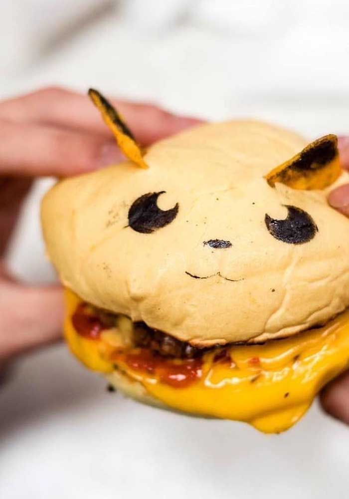 The pikachu sandwich can be a great option to put on the menu.