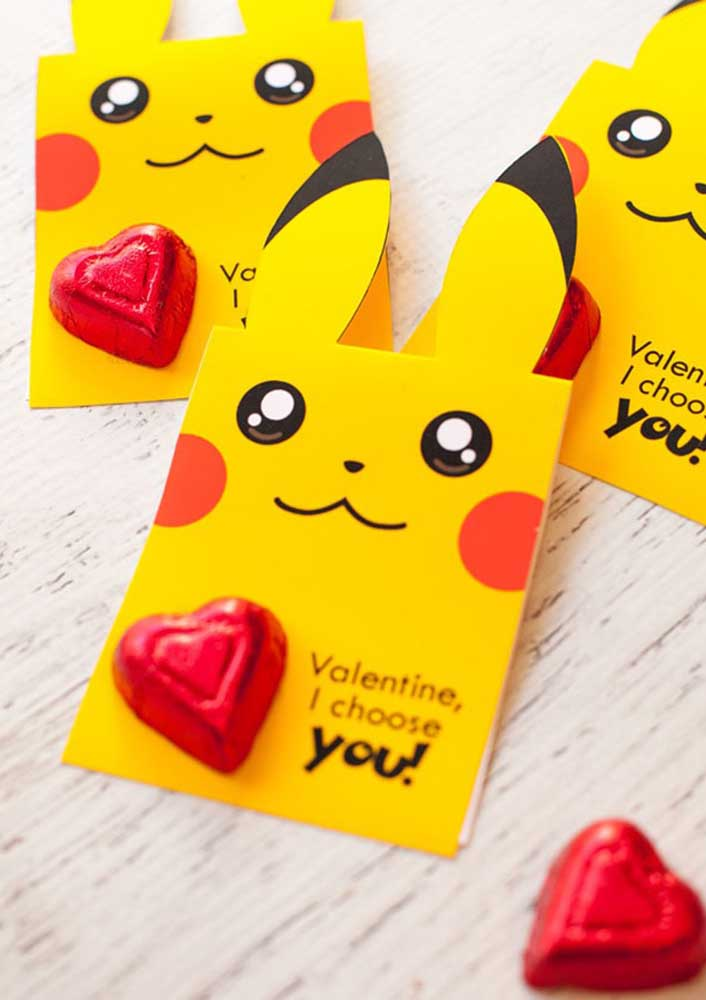 Have you ever thought about a Valentine's Day party inspired by the pokemon theme?