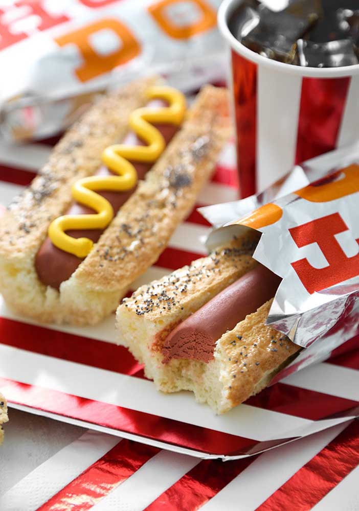 Have you ever thought about serving different hot dogs to your guests?