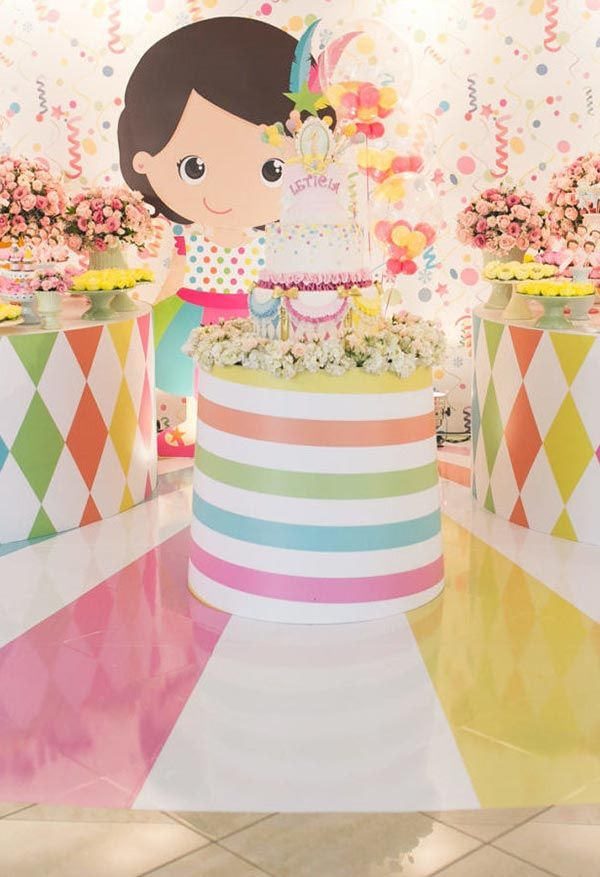 Baby Carnival Party Decoration