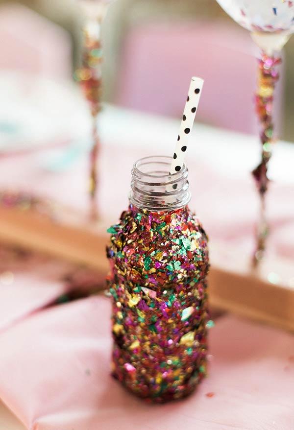 Colorful little bottles