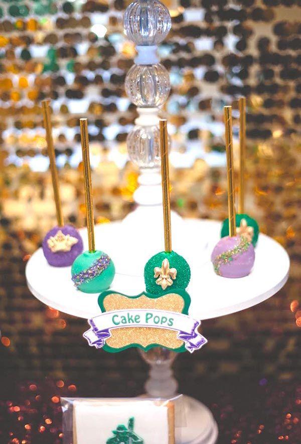 Cakepops for the carnival