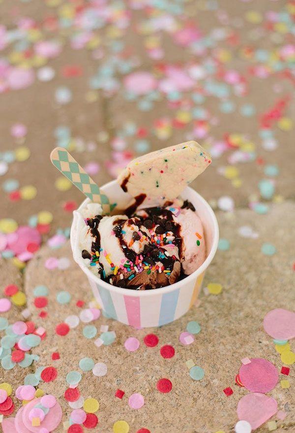Carnival ice cream jar