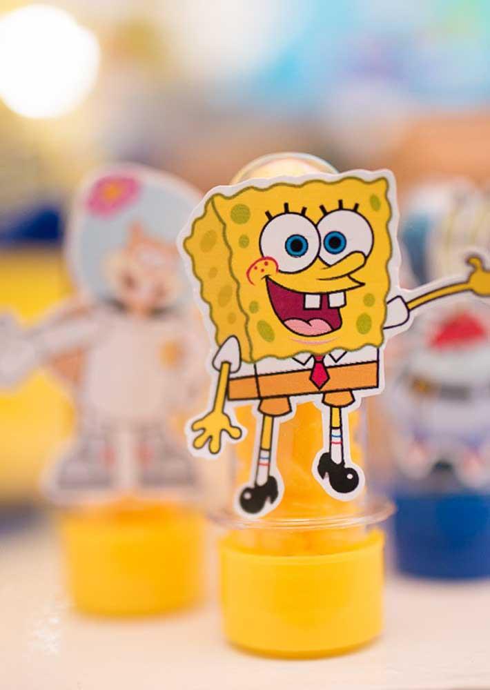 Sponge Bob totem personalized bullet tubes