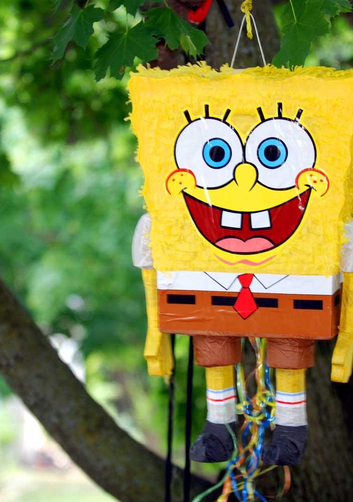 SpongeBob Pichorra to make the kids happy