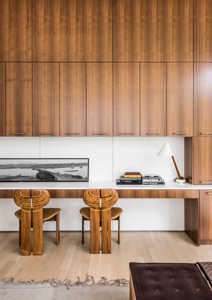 Wood to bring comfort and warmth to the work environment