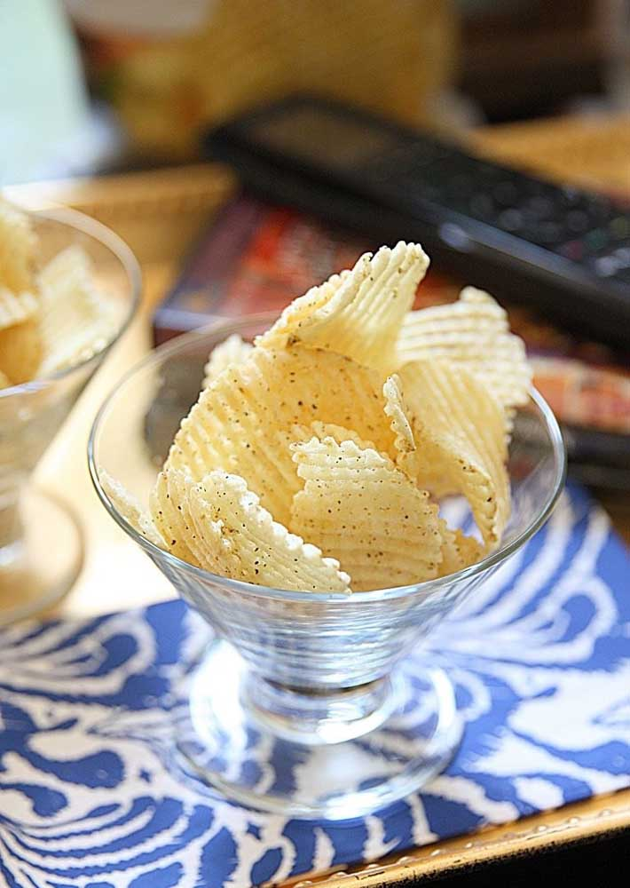 Movie night suits what? Potato chips!