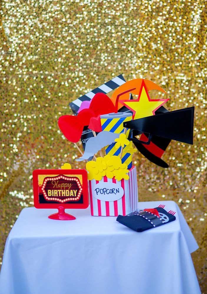 Have you ever thought about having a cinema-themed birthday? width =