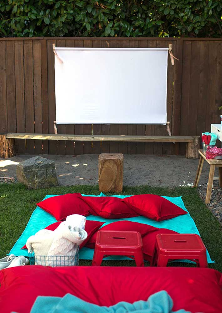 And what do you think of an open-air cinema night?