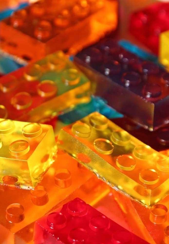Keep this idea: Lego-shaped jelly