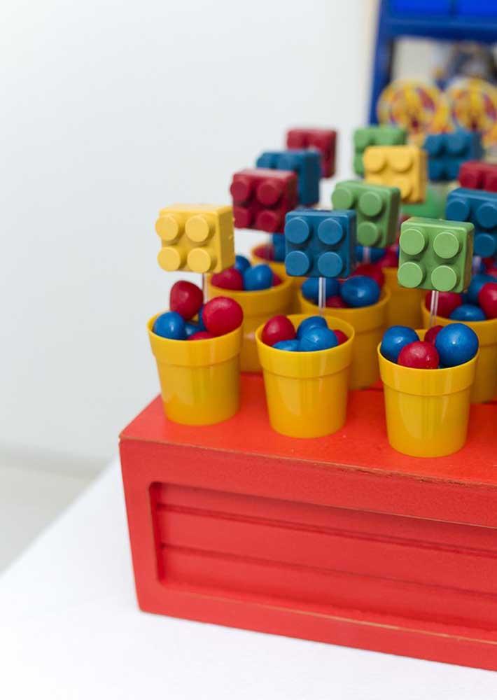 Gum and Lego