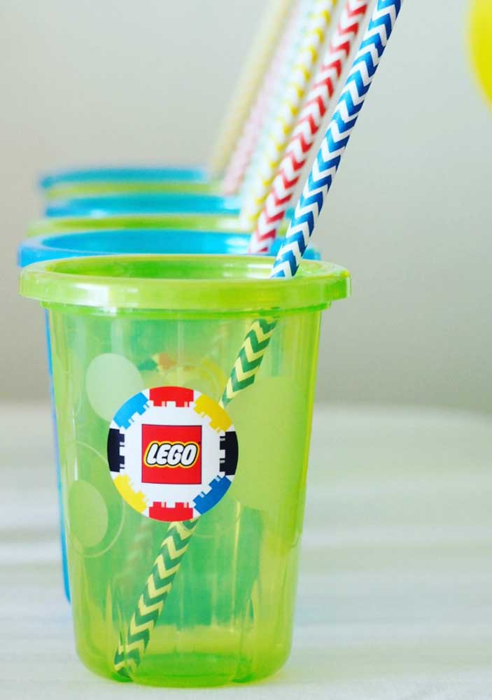 Think not, but even glasses can be customized with Lego theme