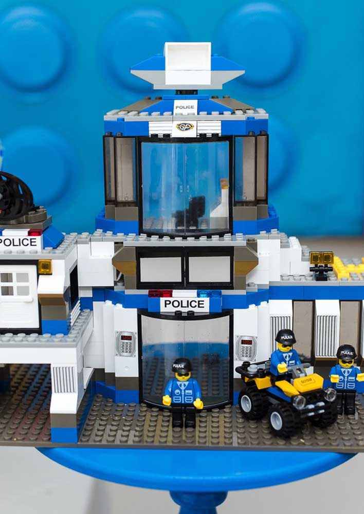 """Lego party with """"Police"""" theme"""