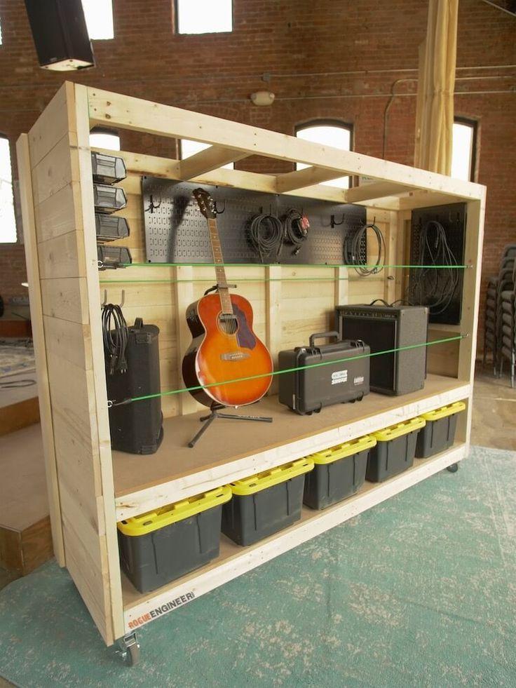 DIY Meubles and Relooking : Étagères de rangement de garage portables »Rogue Engineer - Decoro ...