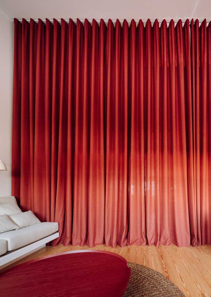To gain an exclusive atmosphere, just close the red curtain