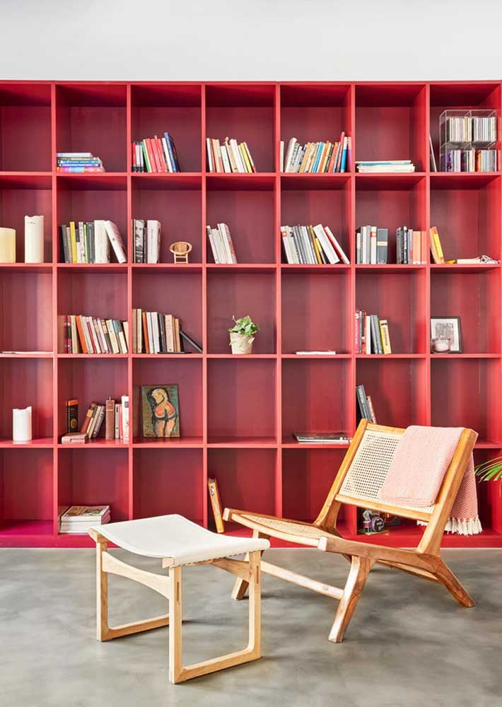 Red and modern