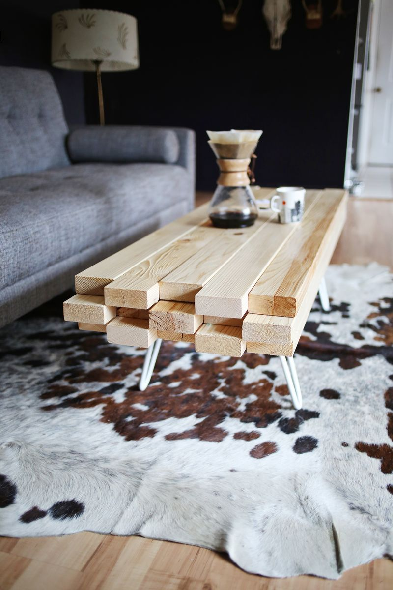 Do it yourself: coffee table
