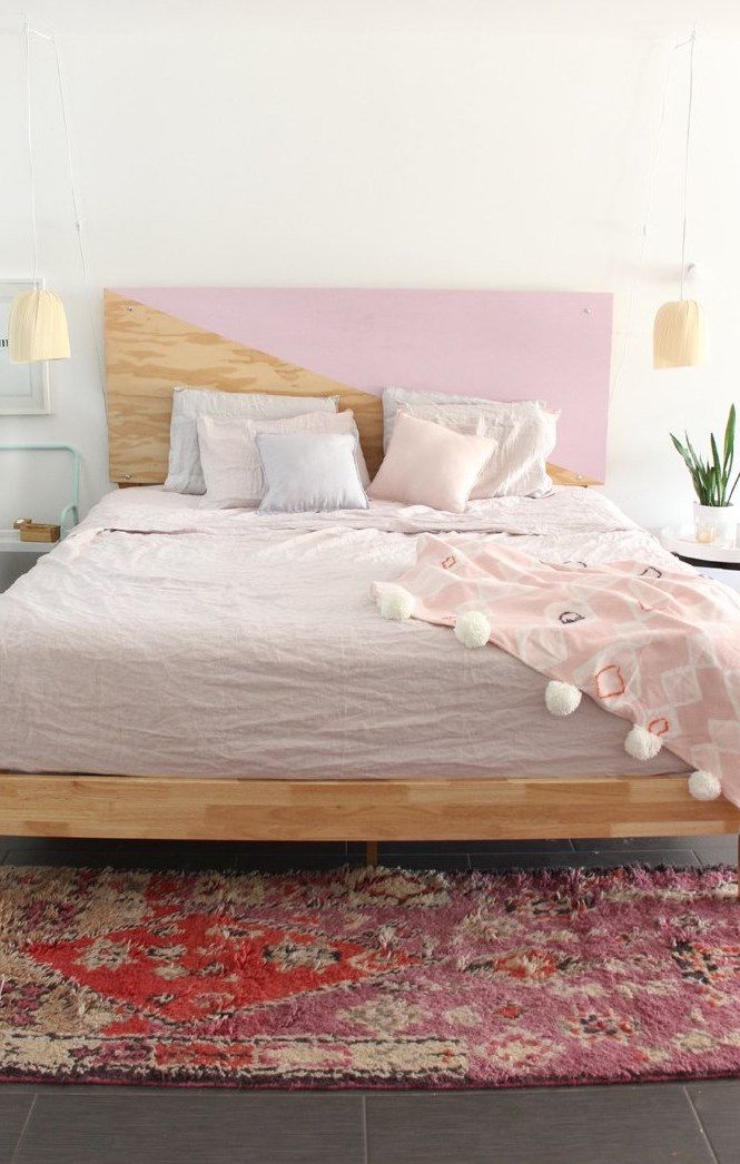One of the most sought after and easiest handicrafts today is headboard