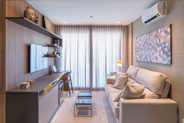 Decorated modern small room