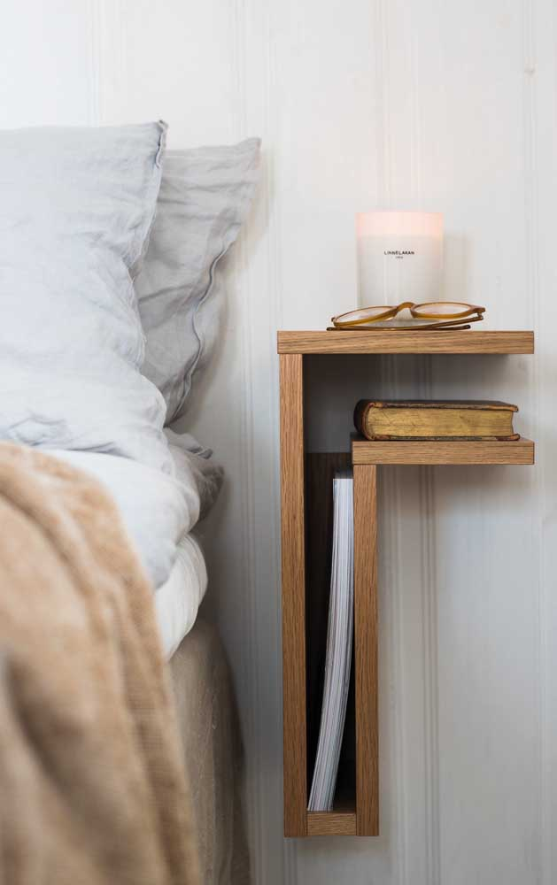 Stylish niches to replace the nightstand