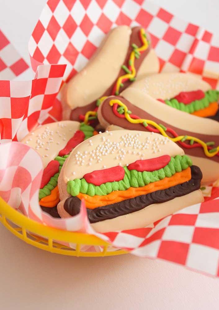 Play dough burger!