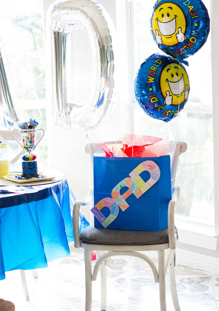 Surprise party for Father's Day: simple but full of love