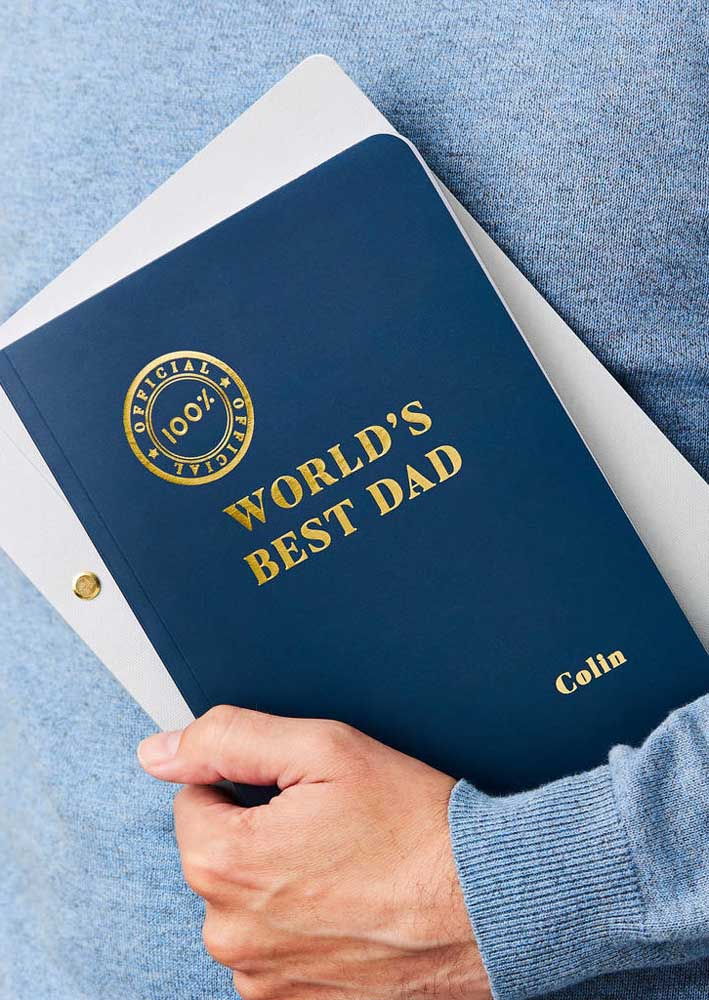 Have you considered offering a certificate to your father?
