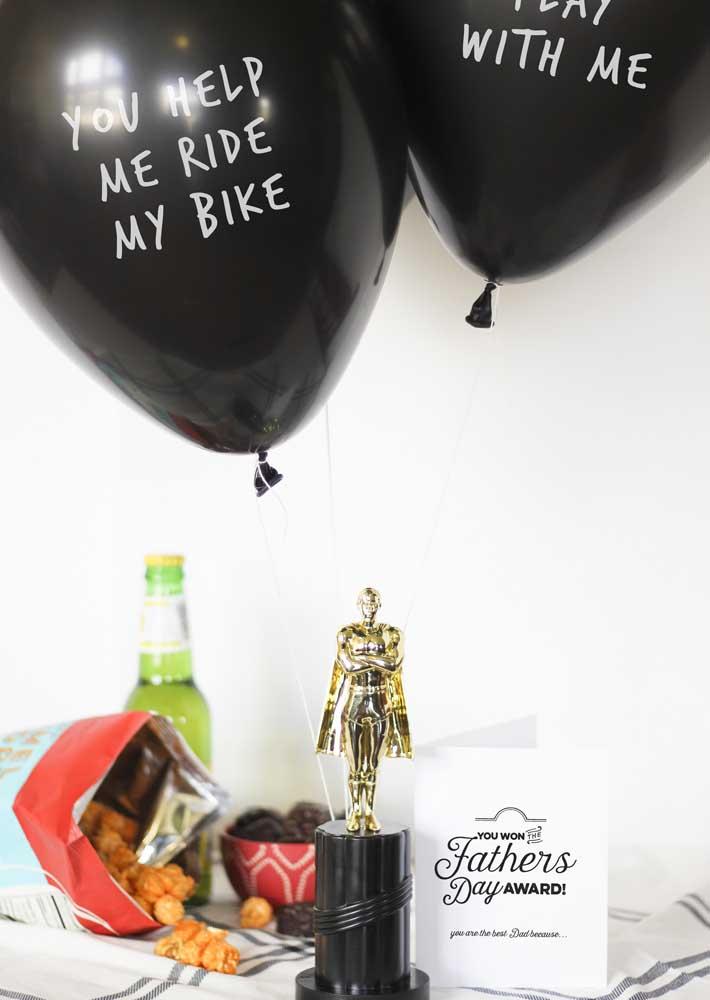 An Oscar for him!