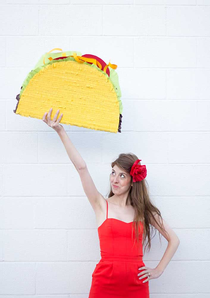 Giant taco for decoration